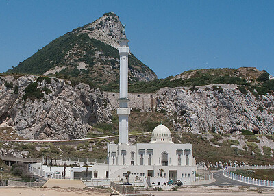 This Mosque was donated to Gibraltar by Saudi Arabia in the 1990's