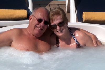 We enjoyed the hot tub on stern of Wind Surf and skipped going into Tangiers