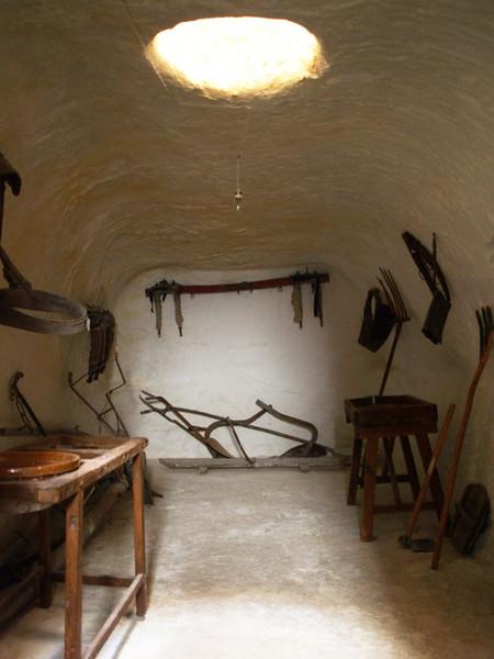 Casas subterraneas de Villcañas