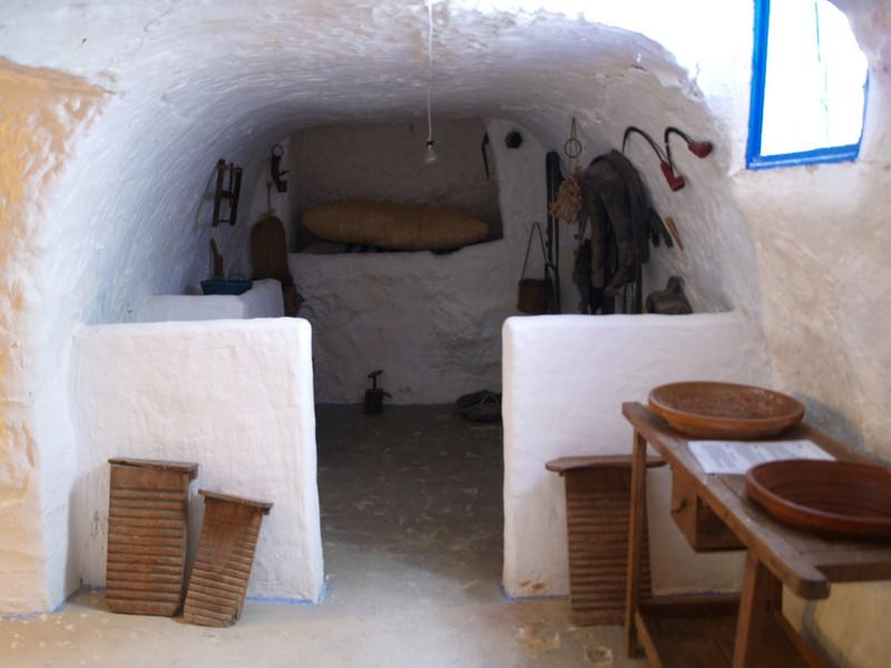 Casas subterraneas de Villacañas