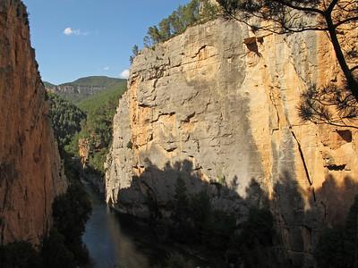 Climbing area Montanejos