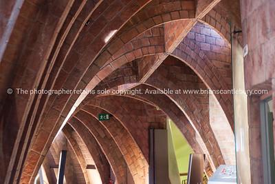 Casa Milà also known as La Pedrera is a modernist building in Barcelona, Catalonia, Spain.