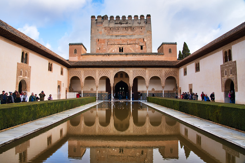 The Alhambra - Reflecting Pool