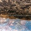 Petrograph caves Castell de Castells, Spain