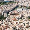 Castell Santa Barbara Alicante Spain street and building scene