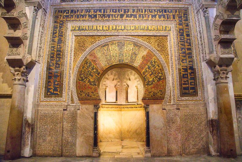 Cordoba Mosque-Cathedral Interior Doorway