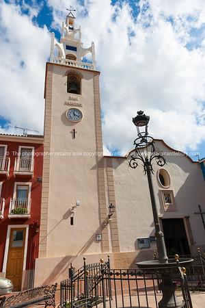 Church Holy Virgin, Parcent Spain.