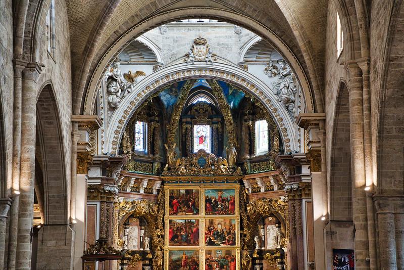 Valencia Cathedral Interior