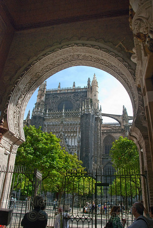 View of Seville's cathedral