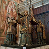 Christopher Columbus' tomb in Seville's cathedral