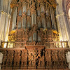 Magnificent organ in Seville's cathedral