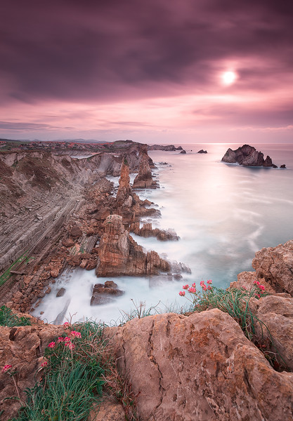 Sunset @ Los Urros de Liencres#2 - Cantabria (Spain)