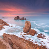 Sunset @ Los Urros de Liencres - Cantabria (Spain)