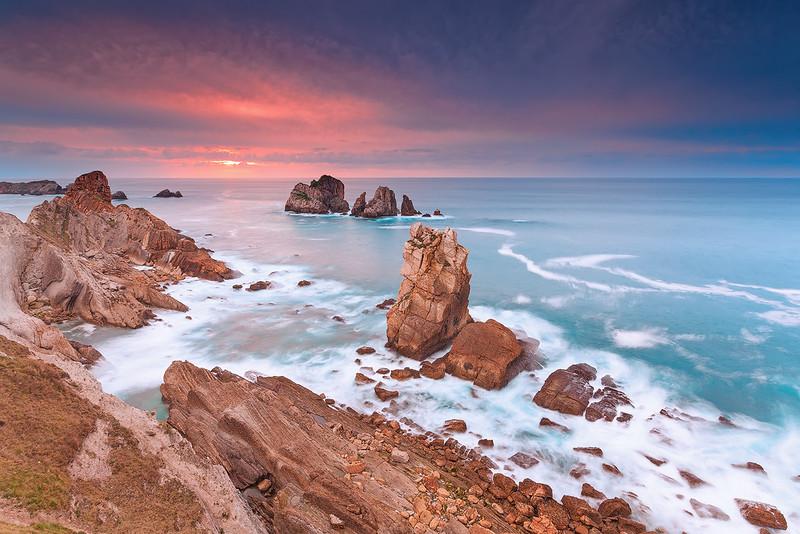 Sunset @ Los Urros de Liencres - Cantabria (Spain)
