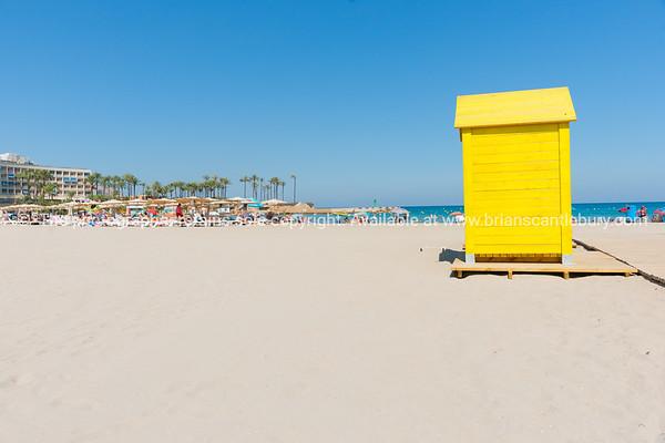 Xabia beach on Mediterranean Costa Blanca Spain