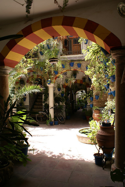 Courtyard in Cordoba