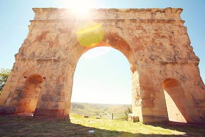 The entrance to Medinaceli.