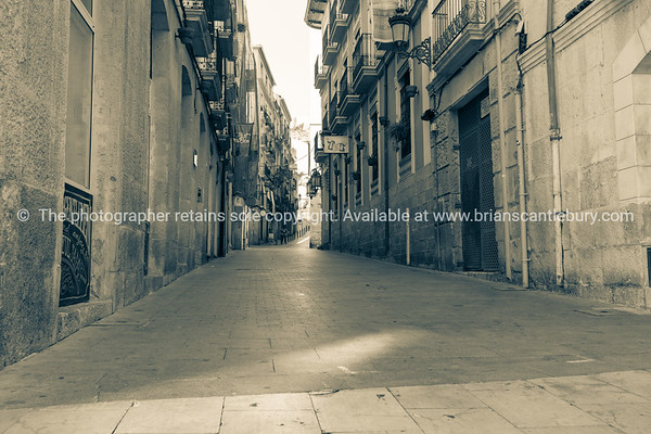 Alicante Spain street and building scene