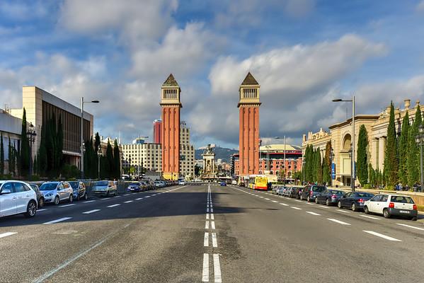 Venetian Tower - Barcelona, Spain