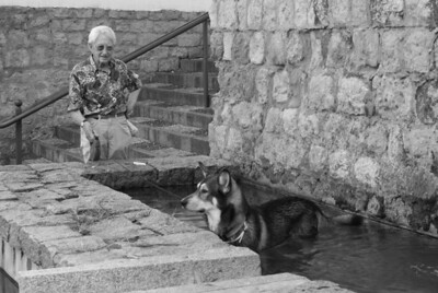 Man and dog, Cordoba
