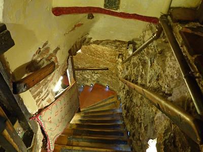 Wine Cellar at Botin Restaurant - Madrid
