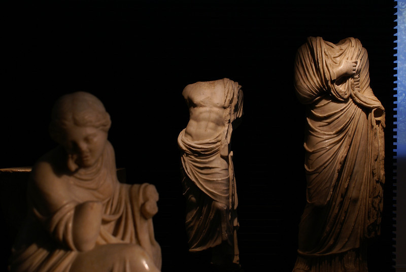 Statues at the Madrid National Archaeological Museum