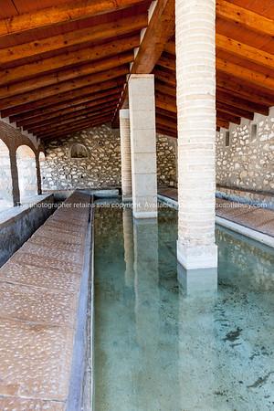 Parcent, Historic Roman era washing baths restored.