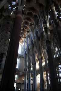 Gaudi's Basilica de la Sagrada Familia, Barcelona