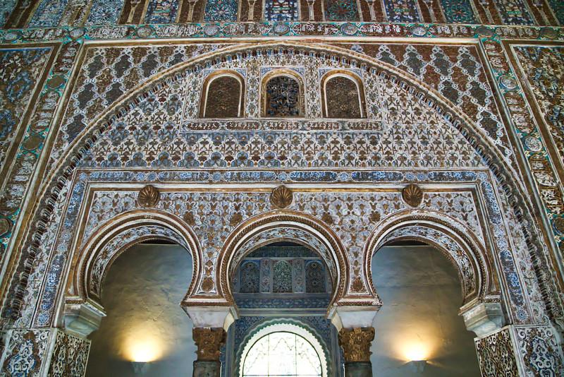 Real Alcazar de Seville Interior