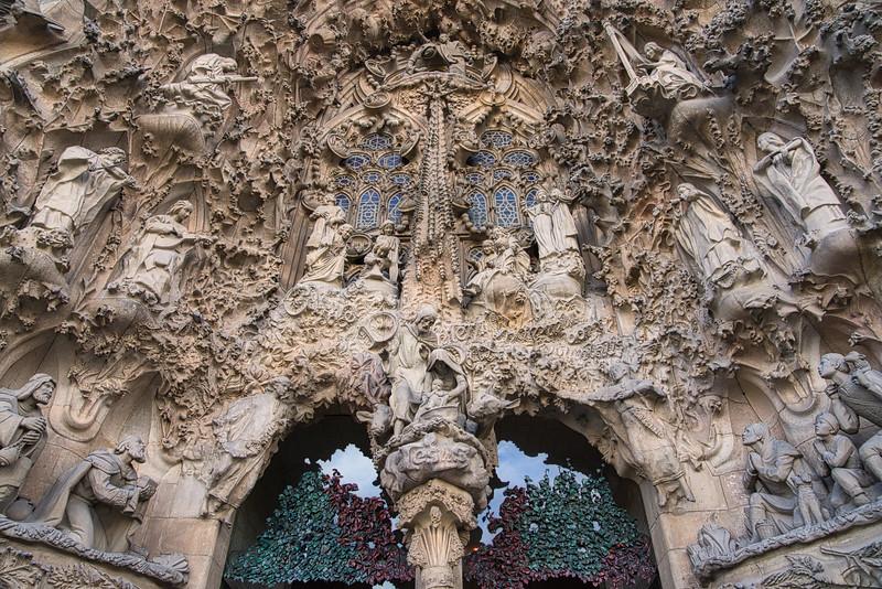 Sagrada Familia - Exterior Close-up