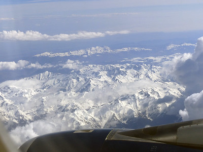 The Alps on the Way to Spain