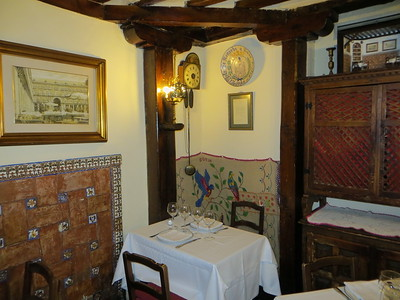 Restaurant Botin - Madrid