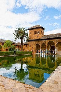 Alhambra Reflection #3