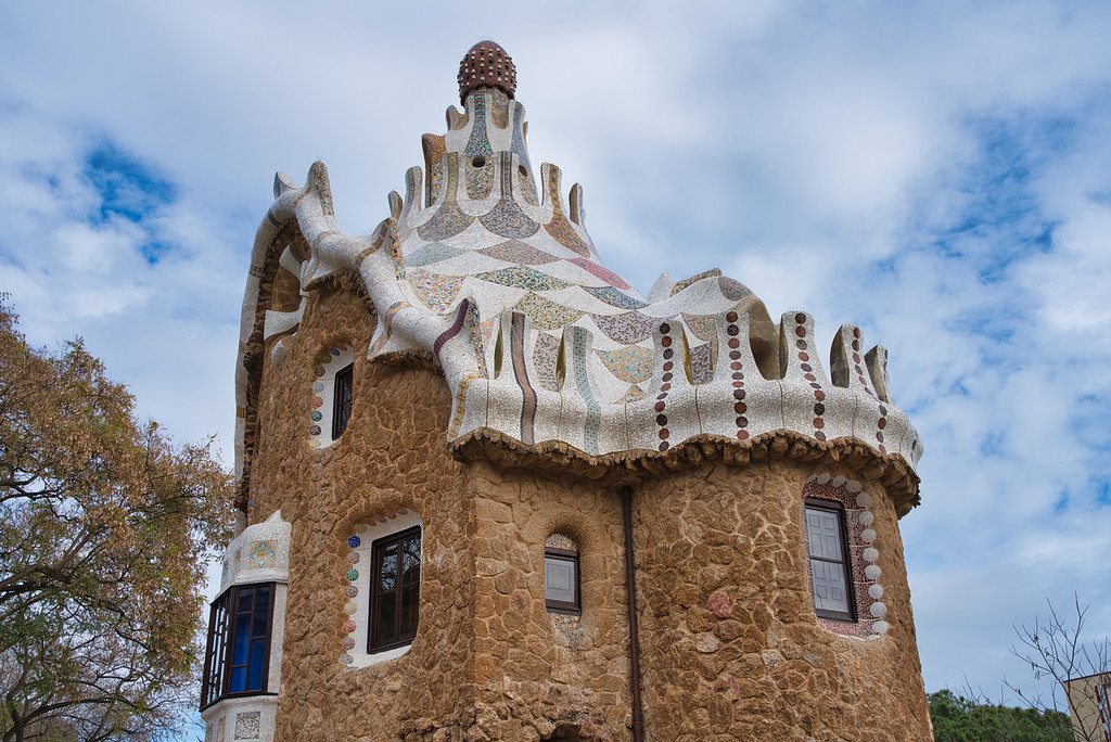 Park Guell - Antoni Gaudi Structure