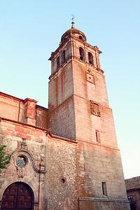 Church in Medinaceli.