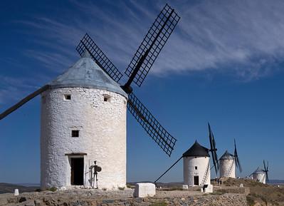 Windmills of LaMancha, Consuegra, Spain