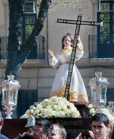 Easter Sunday procession in Granada