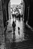 The passageway, Santiago de Compostela, Spain