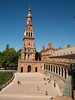 On our second morning, before leaving Sevilla and heading back to Barcelona, we visited Plaza Espana, site of the Ibero-American Exposition of 1929.