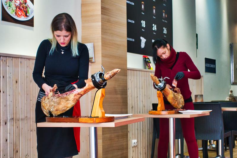 Iberico Ham Slicing Class