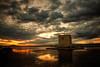Mediterranean Sunset over the Salt Marshes of Santa Pola (I)