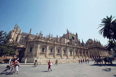 Cathedral of Santa Maria in Seville.