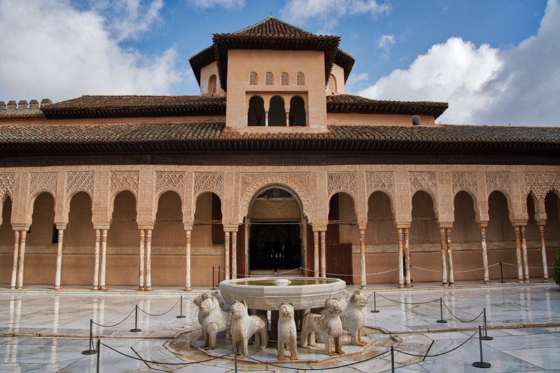 The Alhambra - Court of Lions