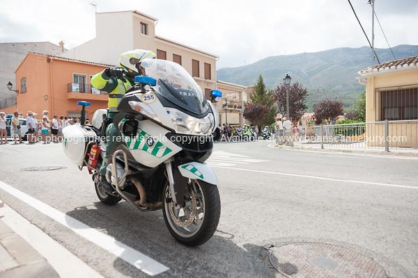 Tour of Spain, La Vuelta, through Parcent