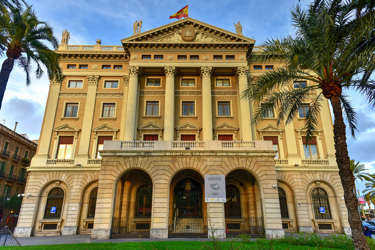 Military Government Building - Barcelona, Spain