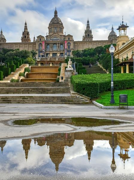 National Palace and Placa de Espanya - Barcelona