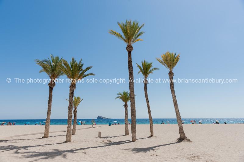 Benidorm beach Spain