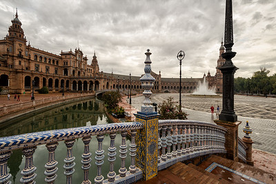 Plaza de España after the Rain