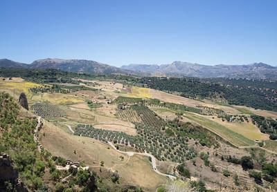View from Rhonda, Spain