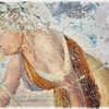 Fresco from the Roman and Greek Ruins in Empuries, Spain